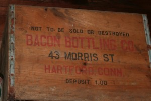 Bacon Bottling, 43 Morris St. Hartford, Conn. was part of the collection. Photo Anders G. Helm.