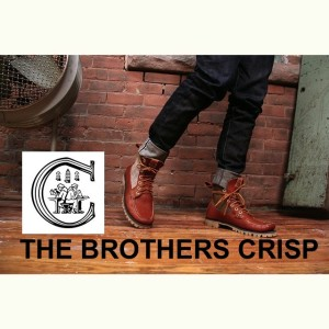 Hand-sewn artisan created footgear by The Brothers Crisp.