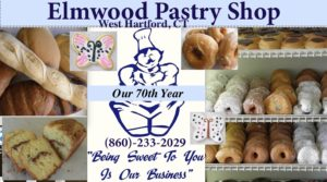 Elmwood Pastry Shop, a bakery West Hartford, Connecticut - 70 years of being sweet to you, that's our business.