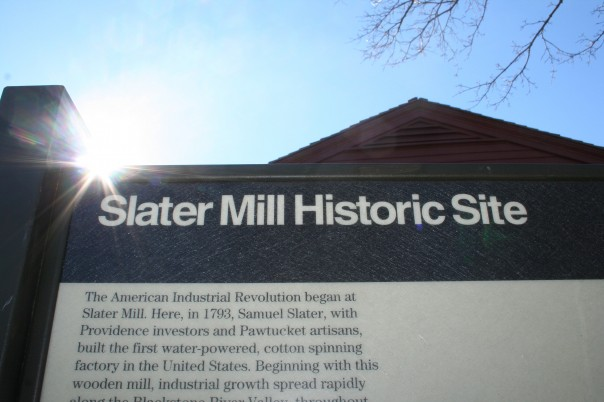 Beginnings at Slater Mill. Photo by Chris Brunson
