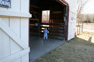 Barn boy. Photo by Chris Brunson