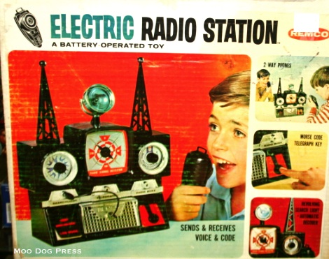 Electric Radio Station in box.