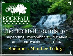 The Rockfall Foundation, Connecticut. A dedicated non-profit with the mission to promote and support environmental education and conservation in the Lower Connecticut River Valley.