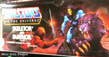 Masters of the Universe, Skeletor and Panthor.