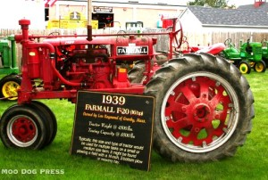 A 1939 Farmall seen at The Big E, from our archives.